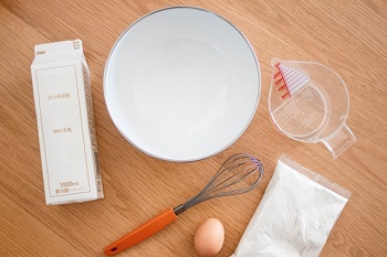朝のパンがない!小麦粉で作る簡単レシピと食べ方バリエーション